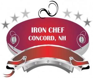 Iron Chef logo with Stars