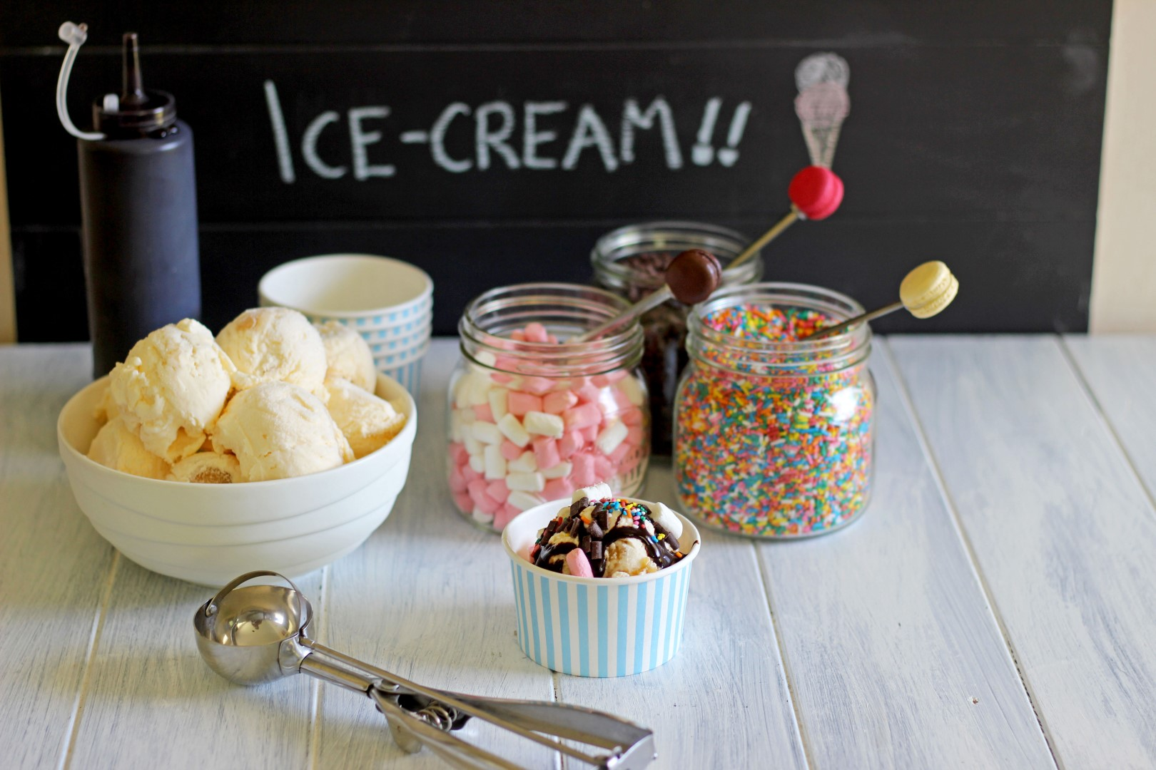 All About Topping Ideas For An Ice Cream Sundae Bar Kidskunst Info